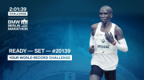 Eliud Kipchoge will help get you ready for the countdown to the #20139 Challenge